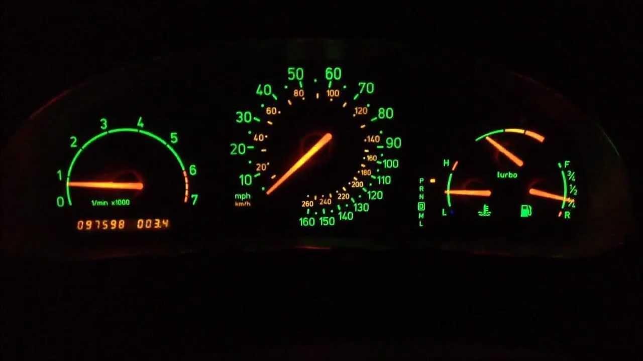 Saab 9 5s Night Panel Button YouTube