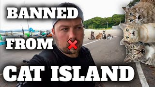 BANNED FROM CAT ISLAND IN JAPAN ❌DO NOT FEED THE CATS❌