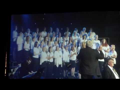 Robert Pilon and Gander Chorus Perform Circle of Life