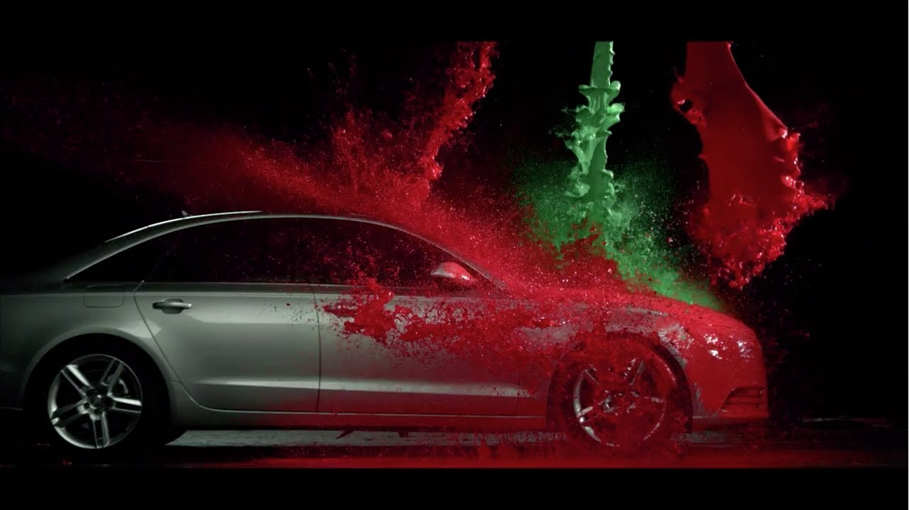 "Audi Werbung ""Bunte Weihnachten"" neu / new Audi Christmas commercial - YouTube"