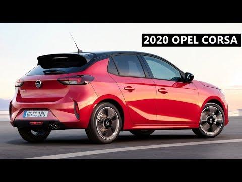 New Opel Corsa 2020 Close Look Youtube