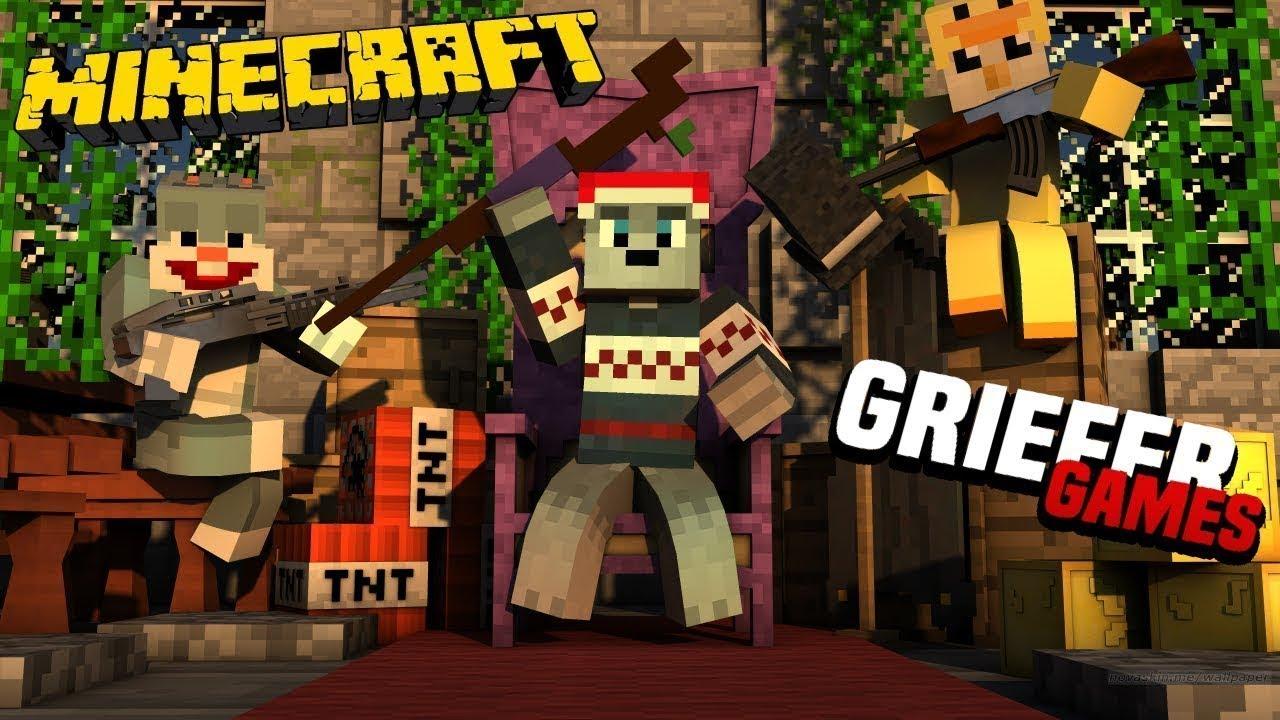 43 Lets Play Minecraft Haus Bauen Und Kleines Dropevent Griefergamesnet