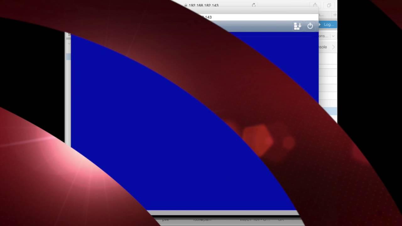 Proxmox 4 2 - Debian KVM Install from Debian 8 5 netinst on a vmware on OSX