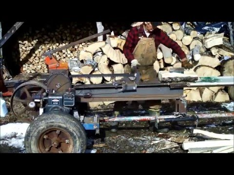 Kinetic log splitter 2016