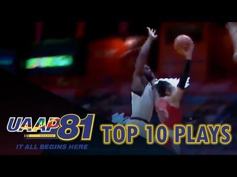 Top 10 Plays - Week 7 | UAAP Season 81 Men's Basketball