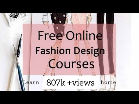 Fashion Designing Competition Open For All Free Online Fashion Design Course At Home Youtube