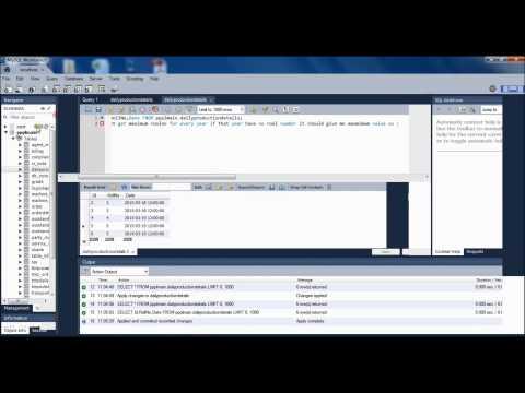 Date format functions in mysql