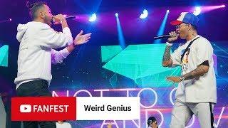 WEIRD GENIUS @ YouTube FanFest Jakarta 2018