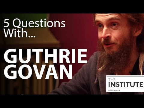 5 Questions With...Guthrie Govan