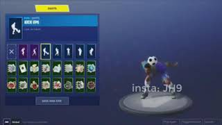 Fortnite All New Emotes Leaked, Kick-Ups, Waterworks, redcard, Pop lock