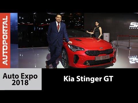 Kia Stinger GT at Auto Expo 2018 - Autoportal