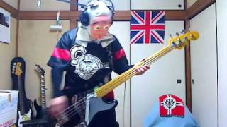 IRON MAIDEN WRATHCHILD BASS COVER