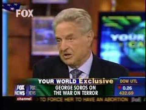 Neil Cavuto's interview of George Soros Part 1