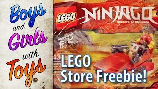 Free Ninjago Pack from the Lego Store in New York! - Boys with Toys 27