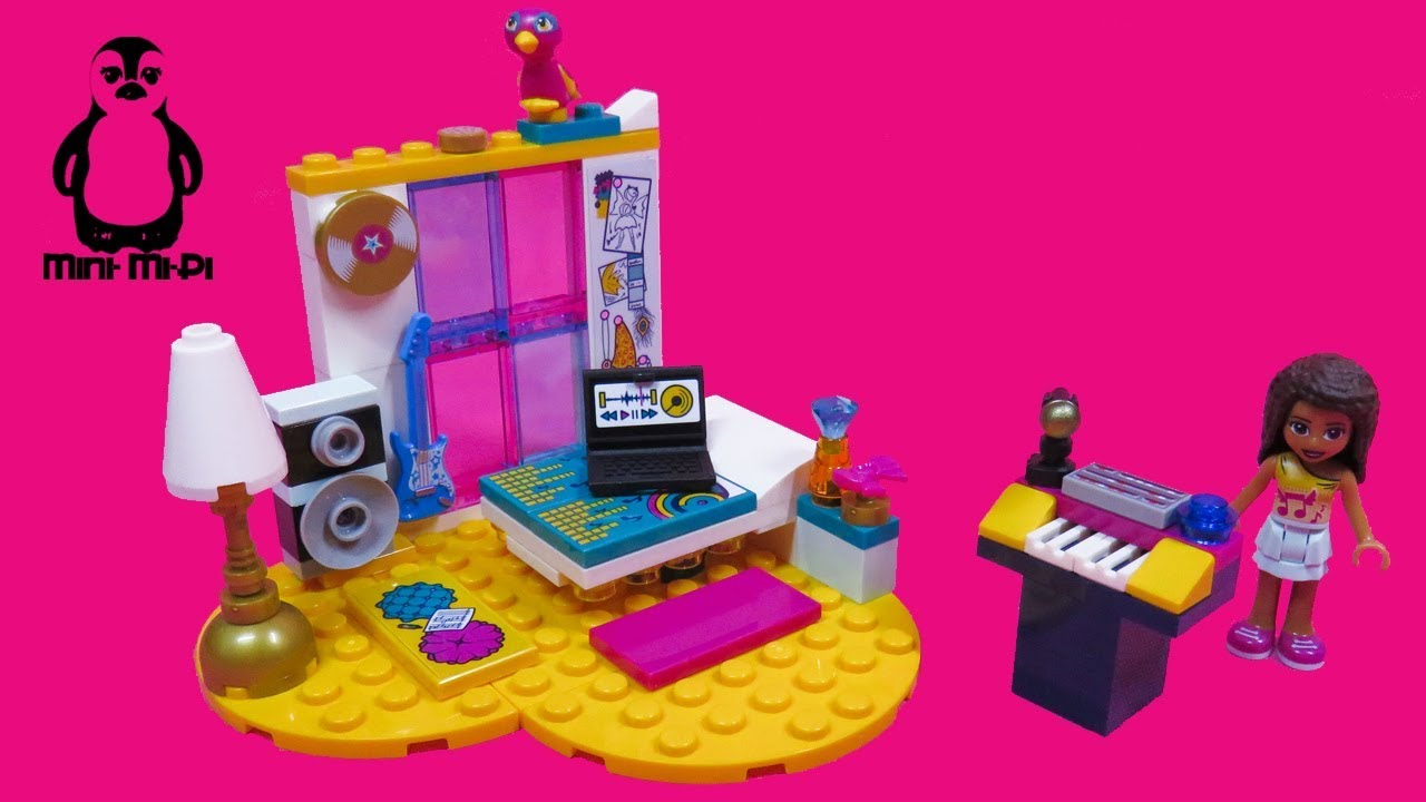 Lego Friends 41341 Andreas Zimmer Andreas Bedroom Speed Build