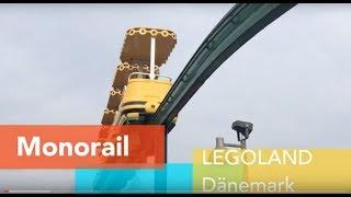 Fahrt mit der LEGO Monorail durch das LEGOLAND Dänemark