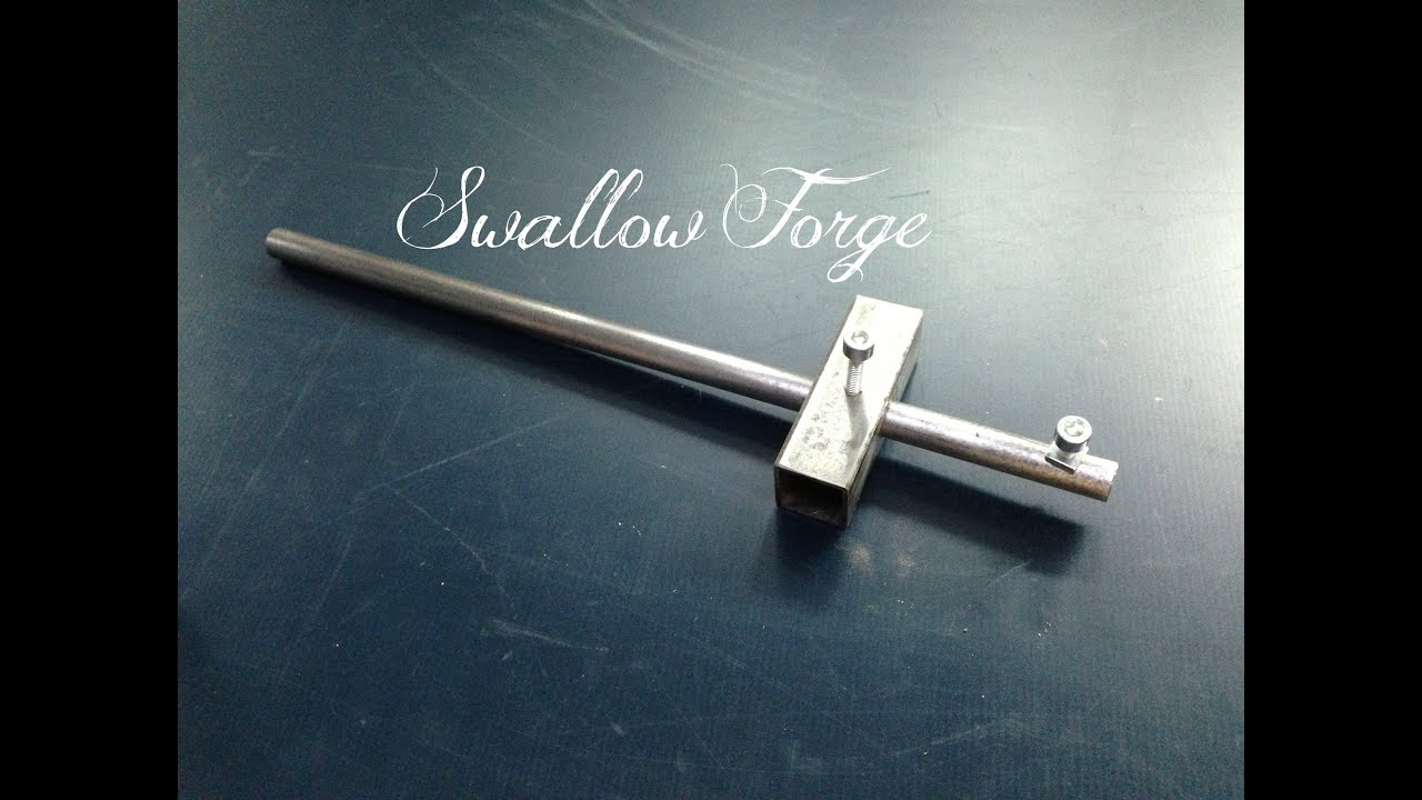 How To Make A Sheet Metal Marking Gauge Swallow Forge