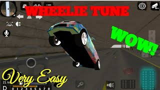 How To Make A Wheelie Car In Car Parking Multiplayer