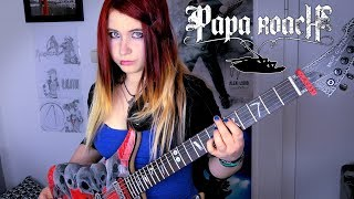 PAPA ROACH - Between Angels And Insects [GUITAR COVER] | Jassy J
