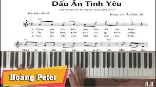 Hướng dẫn đệm piano: Dấu Ấn Tình Yêu - by Hoàng Peter