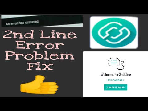 2nd Line An Error Has Occured Problem Fix 👍 Try करलो | Tech Dost |