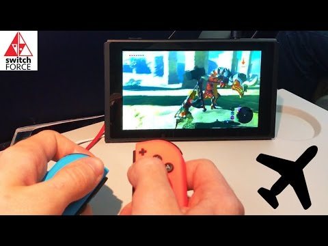 PLAYING SWITCH ON AN AIRPLANE - What It's Like and How It Feels