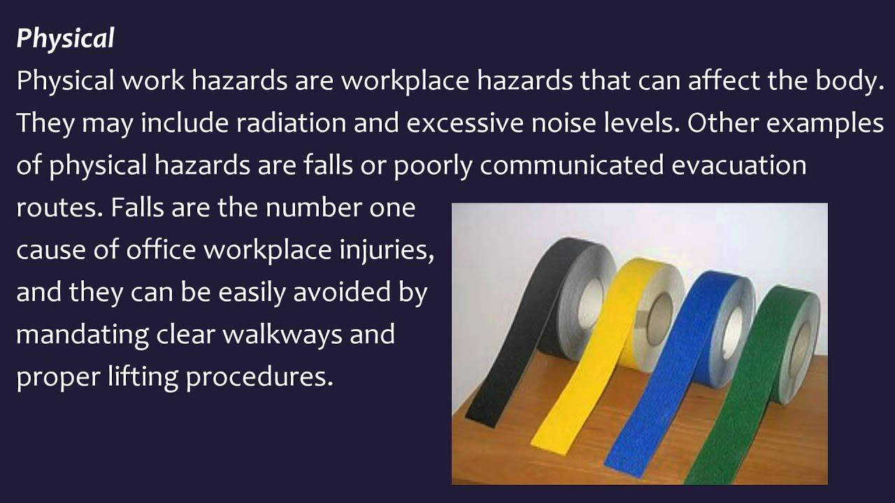 workplace hazards