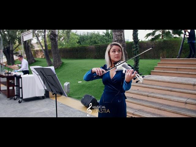 🎻 Somewhere over the Rainbow   Violin Electrico   Violines Bodas   Musical Mastia