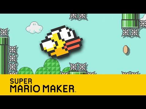 Super Mario Maker FR - Flappy Mario LA RAGE