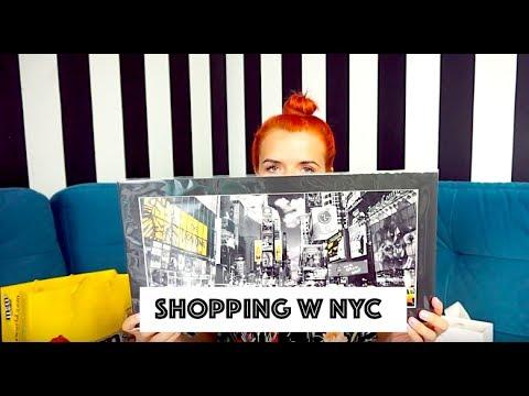 Zakupy w Nowym Jorku 👠👗💄 Haul z NYC - Chloe, M&M, H&M, Kate Spade