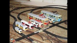 Трамваи Автопром ВСЕ масштабы