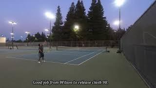 [Tennis Family] Wilson Clash 98 Tennis Racquet Review 测评!