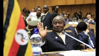 Museveni Warns African Presidents against fighting each other as Kagame steps down as AU Chairman
