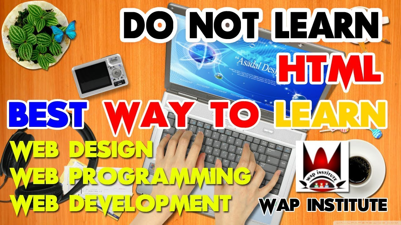 Best options to learn web design