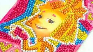Игрушка Фиксики для детей, украшаем картину