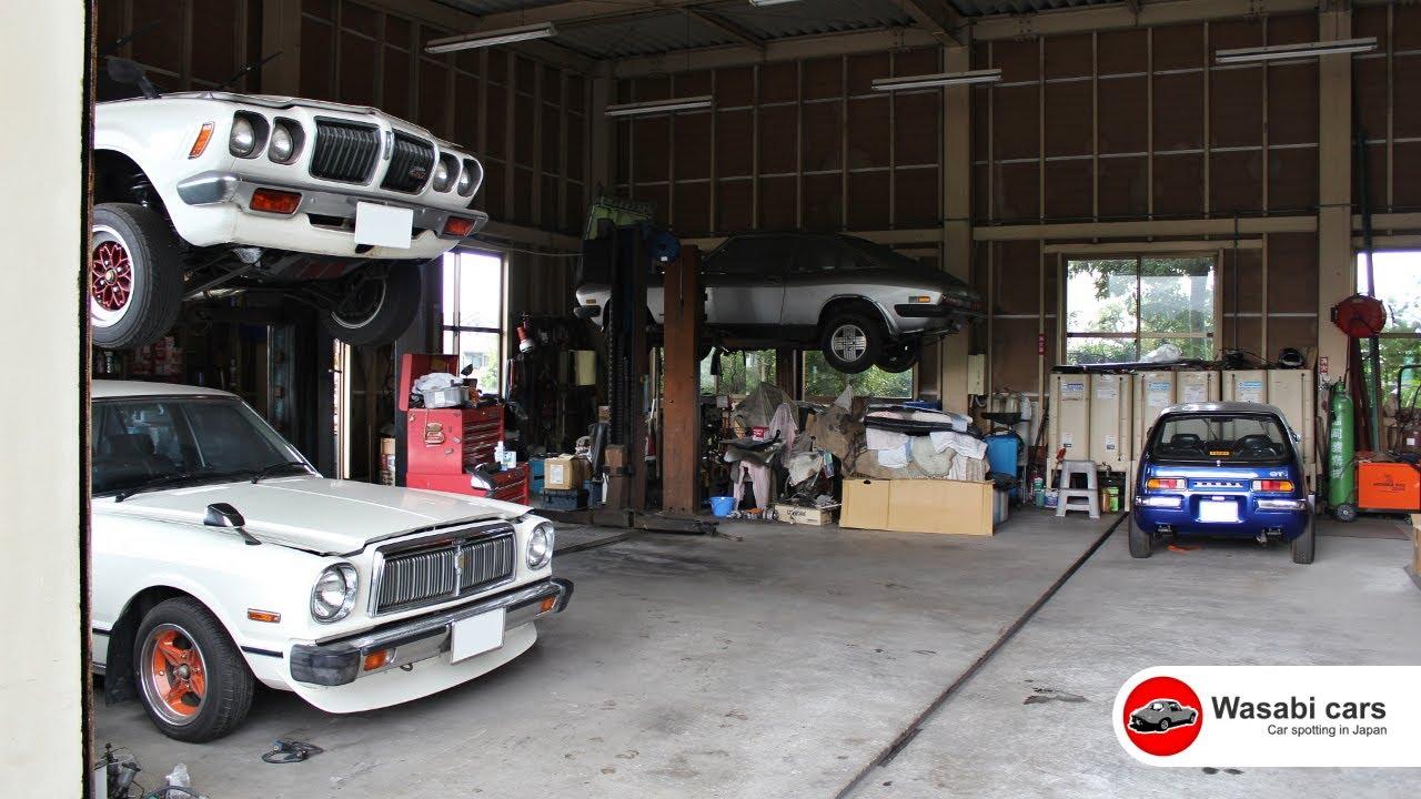 Old-school JDM Dream Garage - Datsun Bluebird, Toyota Chaser, Isuzu ...