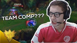 TSM Bjergsen - WHAT IS THIS TEAM COMP?? - League of Legends Stream Highlights & Funny Moments