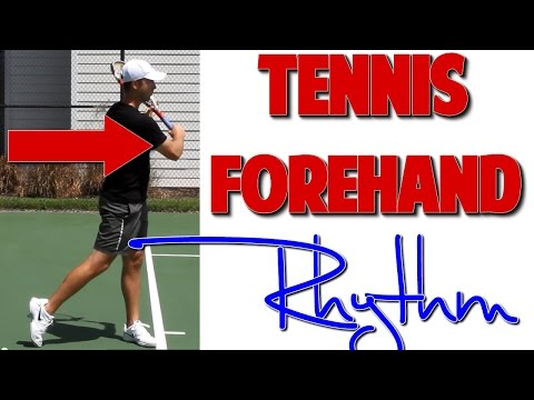 Tennis Forehand: How to Create Buttery Smooth Rhythm (Top Speed Tennis)