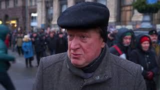 Как МихоМайдан свободу Саакашвили и тюрьму для Порошенко требовал. Видеохроника одного дня