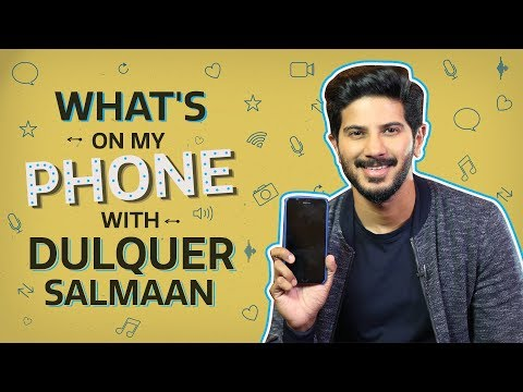 Dulquer Salmaan: What's on my phone | Bollywood | Pinkvilla | Karwaan