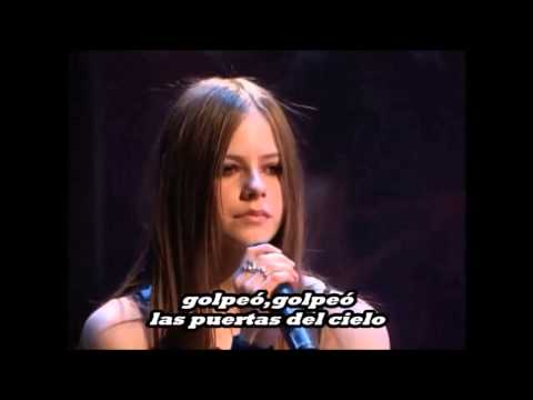 Avril Lavigne - knocking on Heavens Door (Subtitulada al Español)