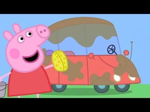 Peppa Pig Português Brasil | Novos Veículos - Trens, Aviões E Carros | HD | Desenhos Animados