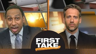 Stephen A. screams 'period' 6 times in rant on Cavs to beat Raptors in playoffs   First Take   ESPN