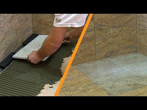 impermeabilizar plato de ducha a nivel de suelo con