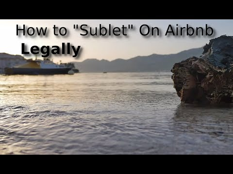 Airbnb Leasing Secret Revealed | Use This Hack To Lease Without Subletting  | Renting To Airbnb 2018