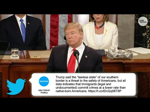 State of the Union 2019: Donald Trump's full speech with fact checks