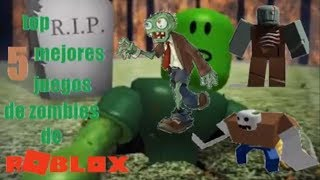 Top 5 Best ROBLOX Zombie Games