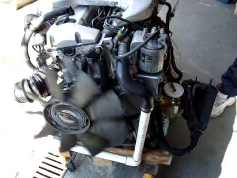 Mercedes W124 Turbo Diesel Motor Youtube