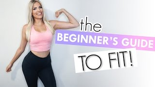 WEIGHT LOSS 101 ♡ The Beginner's Guide to Fit!