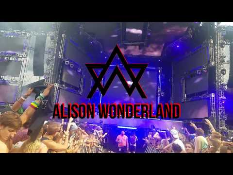 Alison Wonderland Live at Lollapalooza...